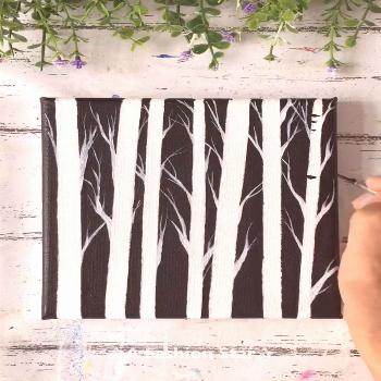6 Super Easy Painting Art For Home Decor – Painting For Beginner Are you still spending lot of mo