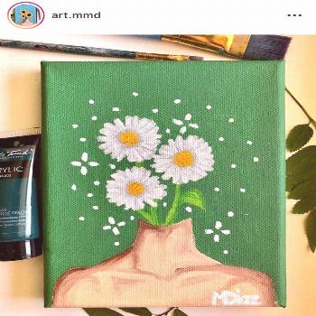 aesthetic painting  Created by art.mmd on Instagram