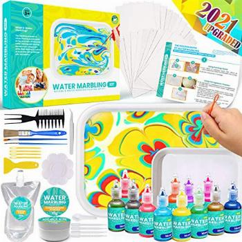 Catcrafter Marbling Painting Art Kit for Kids - STEM Toys