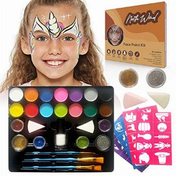 NORTHWIND Face Paint Kit for Kids– Complete Face Painting