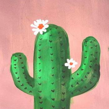Painting ideas on canvas for beginners cactus 67+ ideas for 2019 Painting ideas on canvas for begin