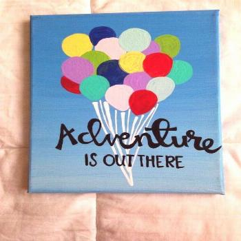 quotes painting idea, painting ideas on canvas, diy and crafts