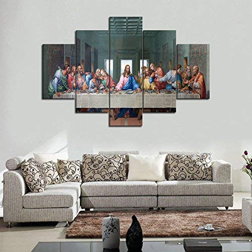 5 Piece Canvas Wall Decor for Living Room The Last