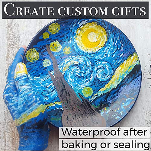 Acrylic Paint Pens for Rock Painting, Stone, Ceramic, Glass,