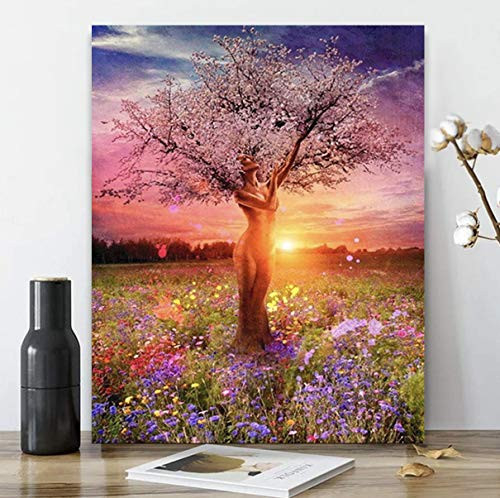 DIY Premium Acrylic Painting by Numbers Kit | Framed on
