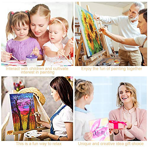 KOSE Paint by Numbers for Adults Beginner amp Kids,DIY Oil