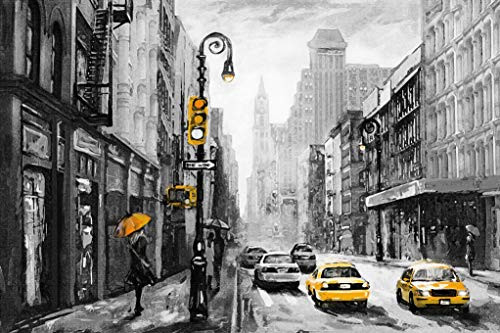 Paint by Numbers for Adults by BANLANA, City View Series,