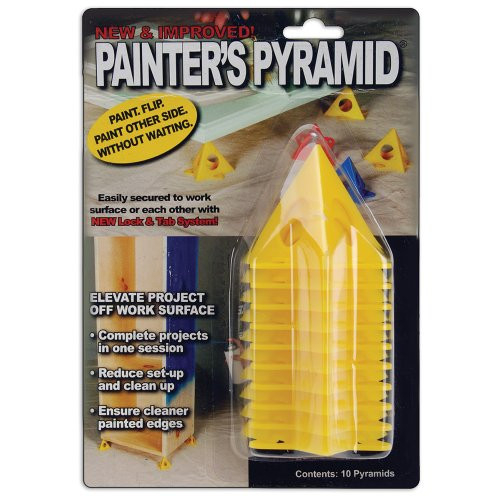 Painters Pyramid Stands, Yellow (KM1257)