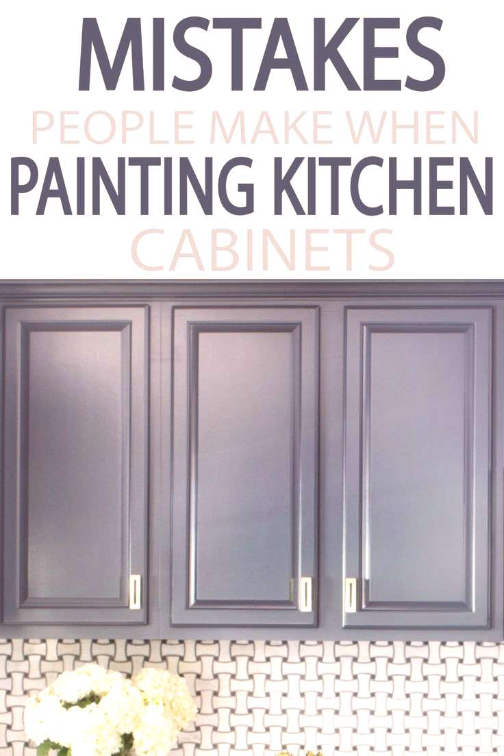 Painting your kitchen cabinets? Learn from other what to do, and what NOT to do! A few minutes read