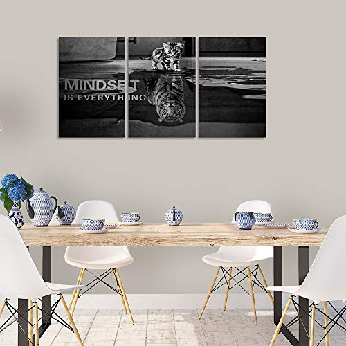 Yetaryy Inspirational Canvas Wall Art Large 3 Pieces